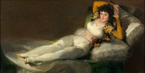 La Maja vestida Goya