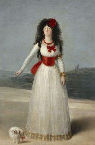 La duquesa de Alba retrato de Goya